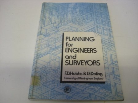 9780080254586: PLANNING FOR ENGINEERS AND SURVEYORS