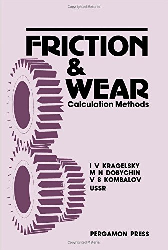 9780080254616: Friction and Wear: Calculation Methods