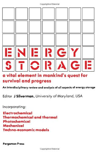 9780080254715: Energy Storage: 1st: International Assembly Transactions