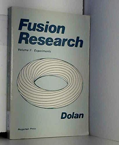 9780080255675: Fusion Research Experiments, Volume 2: Experiments
