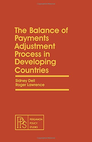 9780080255774: The Balance of Payments Adjustment Process in Developing Countries (Pergamon policy studies on socio-economic development)