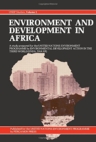 9780080256672: Environment and Development in Africa (UNEP studies)