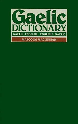 9780080257136: Gaelic Dictionary: Gaelic-English, English-Gaelic