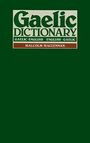 9780080257136: A Pronouncing and Etymological Dictionary of the Gaelic Language: Gaelic-English, English-Gaelic