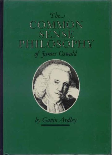 Common Sense Philosophy of James Oswald: Ardley, Gavin