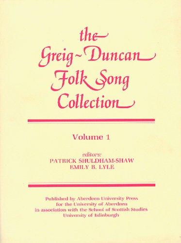 9780080257594: The Greig-Duncan Folk Song Collection: Volume 1