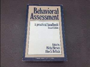 9780080259550: Behavioural Assessment: A Practical Handbook (General Psychology)