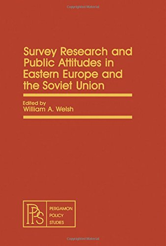 9780080259581: Survey Research and Public Attitudes in Eastern Europe and the Soviet Union (Pergamon policy studies on international politics)