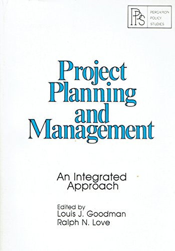 9780080259628: Project Planning and Management