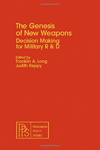9780080259734: The Genesis of new weapons: Decision making for military R&D (Pergamon policy studies on international politics)