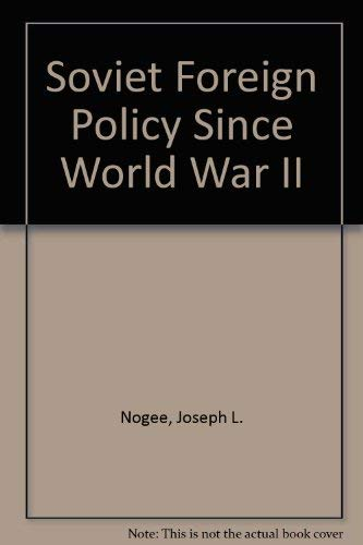 9780080259970: Soviet Foreign Policy Since World War II