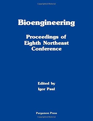 9780080260006: Bioengineering: Conference Proceedings