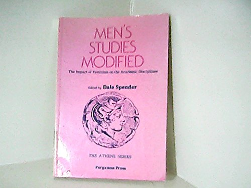 9780080261171: Men's Studies Modified: The Impact of Feminism on the Academic Disciplines