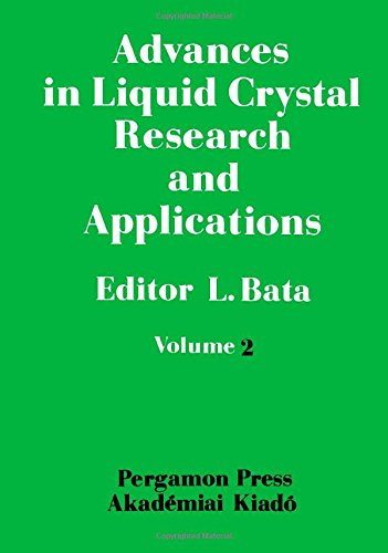 9780080261911: Advances in Liquid Crystal Research and Applications: 3rd: Conference Proceedings