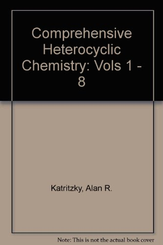 9780080262000: Comprehensive Heterocyclic Chemistry (Vols 1 - 8)