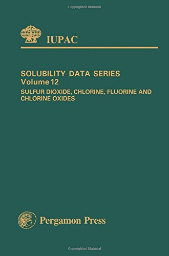 9780080262185: Sulphur Dioxide, Chlorine, Fluorine and Chlorine Oxides (IUPAC Solubility Data)