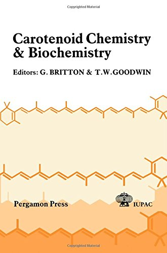 9780080262246: Carotenoid Chemistry and Biochemistry (IUPAC Publications)