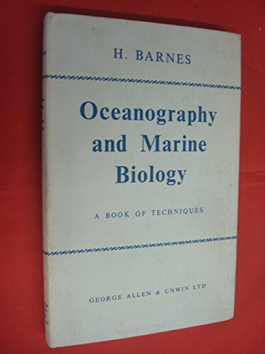 9780080262581: Oceanography and Marine Biology: Book of Techniques