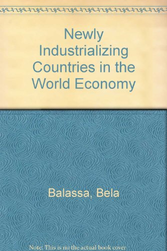 9780080263359: The Newly Industrializing Countries in the World Economy