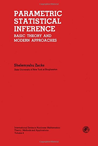 9780080264684: Parametric Statistical Inference: Basic Theory and Modern Approaches (International series in nonlinear mathematics)
