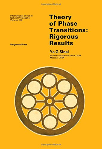 9780080264691: Theory of Phase Transitions: Rigorous Results