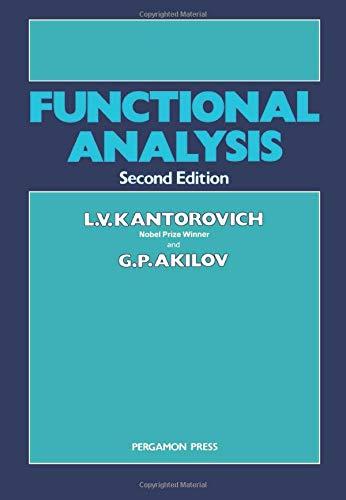 9780080264868: Functional Analysis