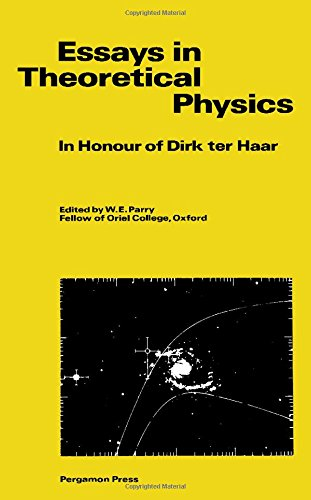 9780080265230: Essays in Theoretical Physics: In Honour of Dirk Ter Haar