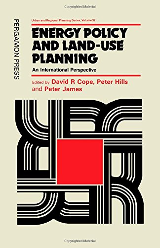 9780080267579: Energy Policy and Land Use Planning: An International Perspective (Urban & Regional Planning)