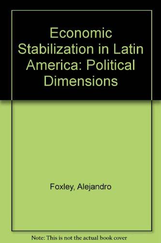9780080267883: Economic Stabilization In Latin America   Political Dimensions