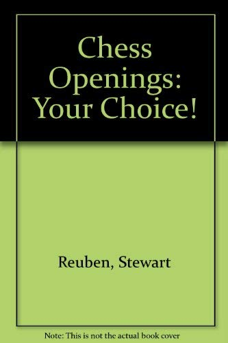 9780080268941: Chess Openings - Your Choice!