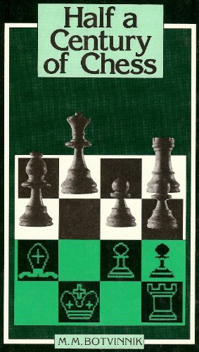 9780080269191: Half a Century of Chess (Pergamon Russian Chess Series)