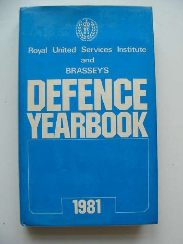 9780080270067: Rusi-Brassey's Defence Yearbook, 1981