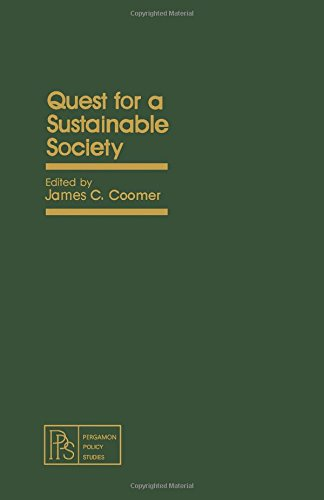 Quest for a Sustainable Society (Pergamon Policy Studies on Business and Economics)