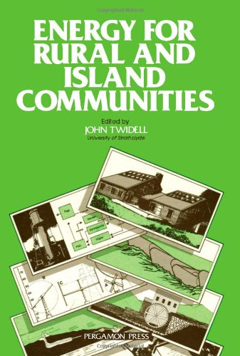 9780080272900: Energy for Rural and Island Communities: 1st: International Conference Proceedings