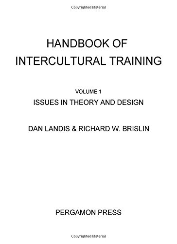Handbook of Intercultural Training. Volume I: Issues in theory and design. (Pergamon General ...