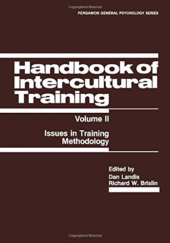 9780080275345: Handbook of Intercultural Training: Issues in Training Methodology (Pergamon General Psychology Series)