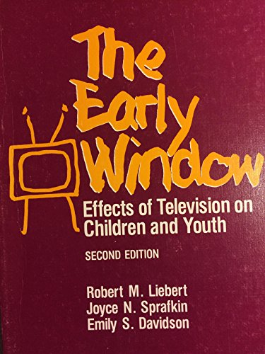 9780080275475: Early Window: Effects of Television on Children and Youth (General Psychology)