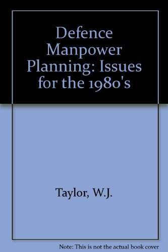 9780080275611: Defense Manpower Planning: Issues for the 1980's (Pergamon policy studies on security affairs)