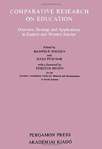 9780080279343: Comparative Research on Education: Overview, Strategy and Application in Eastern and Western Europe