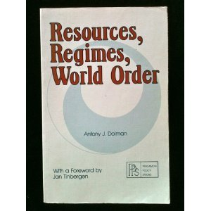 9780080280790: Resources, Regimes, World Order