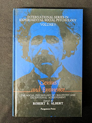 9780080281056: Genius and Eminence: The Social Psychology of Creativity and Exceptional Achievement (International series in experimental social psychology)
