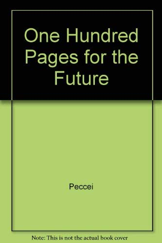 9780080281179: One Hundred Pages for the Future