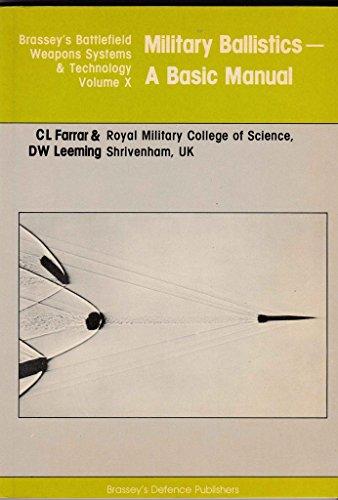 9780080283432: Military Ballistics: A Basic Manual (Battlefield Weapons Systems & Technology)