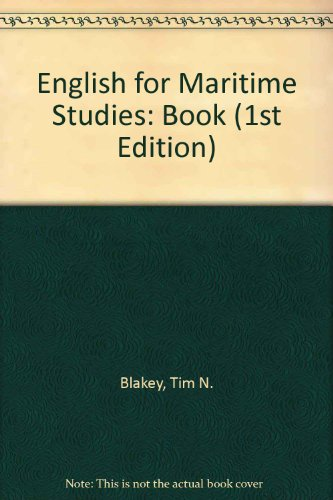 9780080286365: English for Maritime Studies: Book (1st Edition)