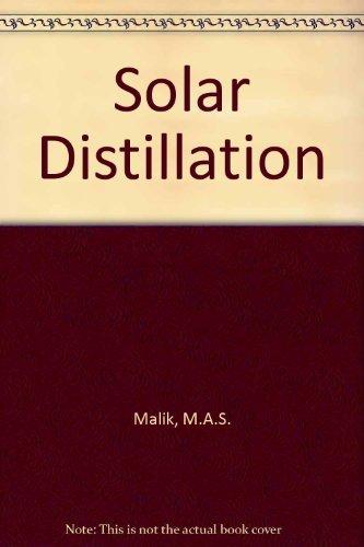 Solar Distillation: M.A.S. Malik and