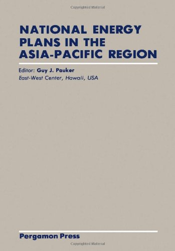 9780080286884: National Energy Plans in the Asia - Pacific Region