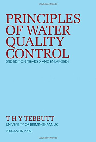 9780080287058: Principles of Water Quality Control (Pergamon international library)