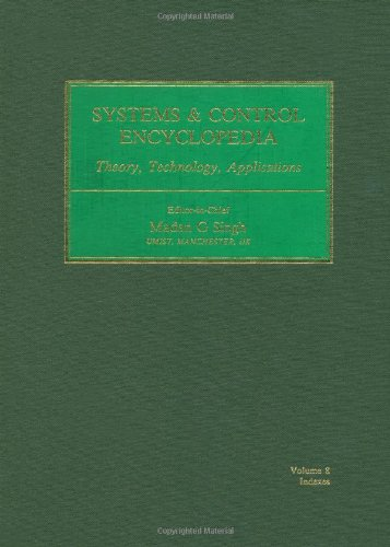 Systems & Control Encyclopedia: M.G. Singh