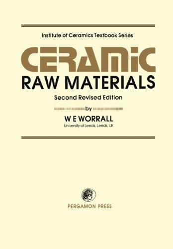 9780080287119: Ceramic Raw Materials: Institute of Ceramics Textbook Series, Second Revised Edition
