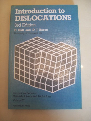 9780080287201: Introduction to Dislocations, Third Edition (International Series on Materials Science and Technology)